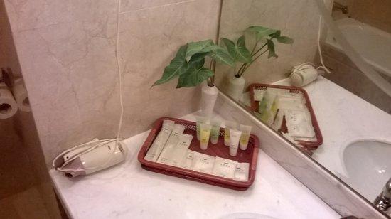 China Merchants Hotel: toiletries