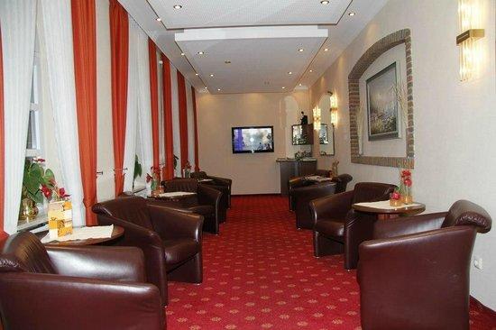 Strandhotel Hohenzollern: Unsere gemütliche Sky-Lounge