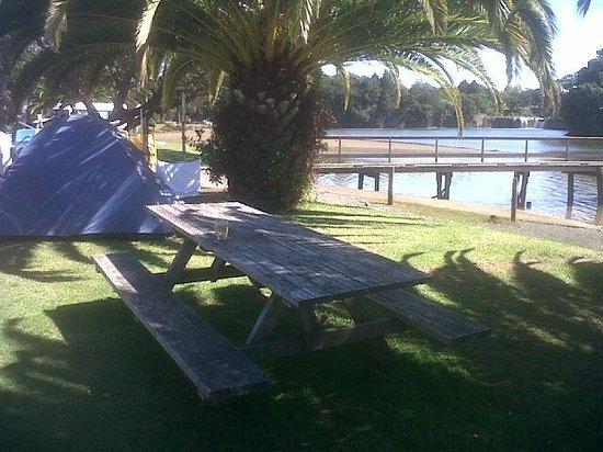 Haruru Falls Resort: My wee tent