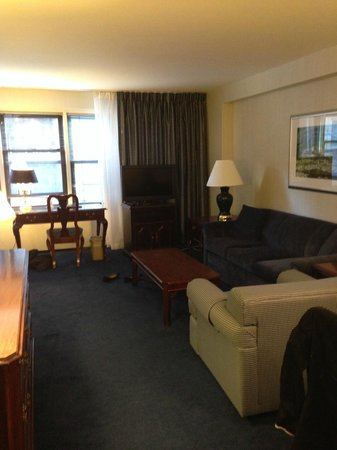 Murray Hill East Suites: upgraded room 4/14