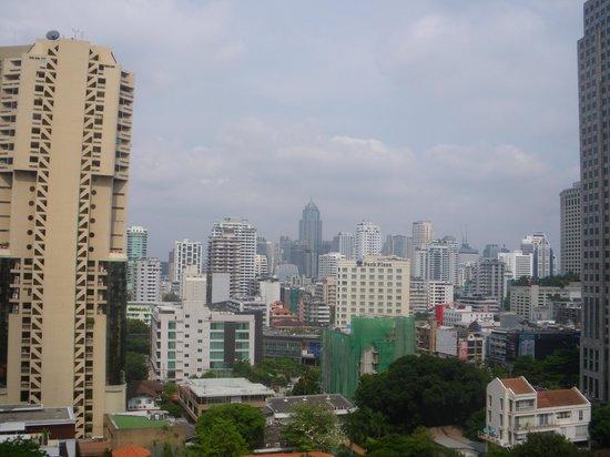 Hotel Windsor Suites & Convention Bangkok: vue du 14ième étage