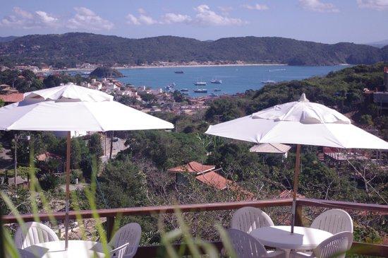 Pousada Santorini : Vista do quarto