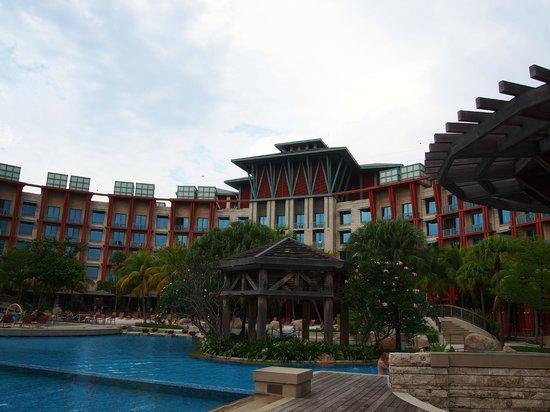 Back Part of Hard Rock Hotel Singapore