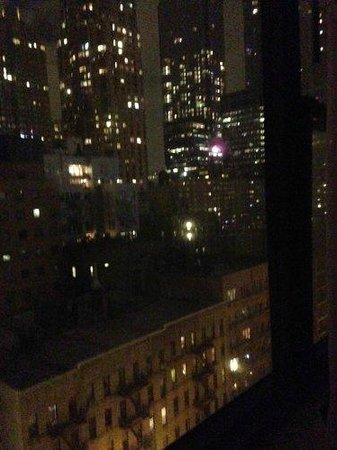The Watson Hotel : Room view at night.