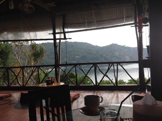 OK II Bungalows: La vista dal ristorante