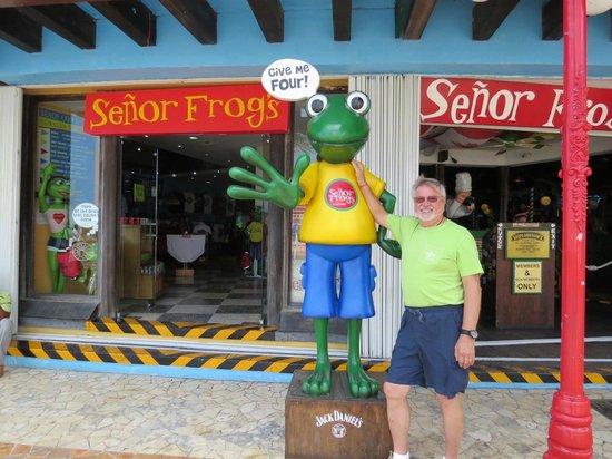 Señor Frog's: Front Door