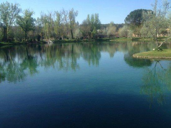 Parque Hotel: Lago termal