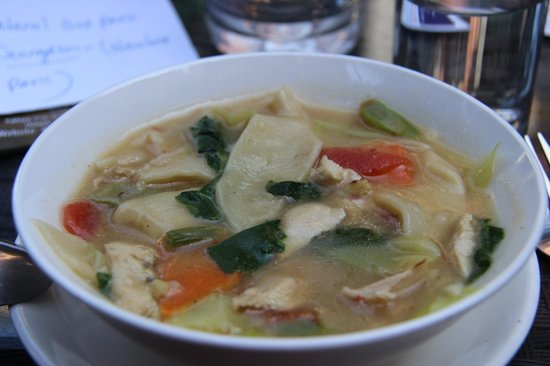 Hotel Ganesh Himal: soupe