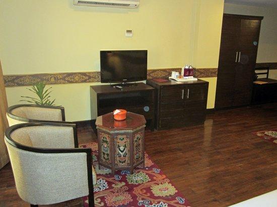 Hotel Tibet International: Room amenities