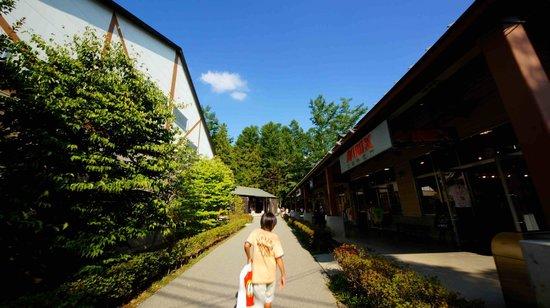Resort Outlet Yatsugatake : 八ヶ岳リゾートアウトレット