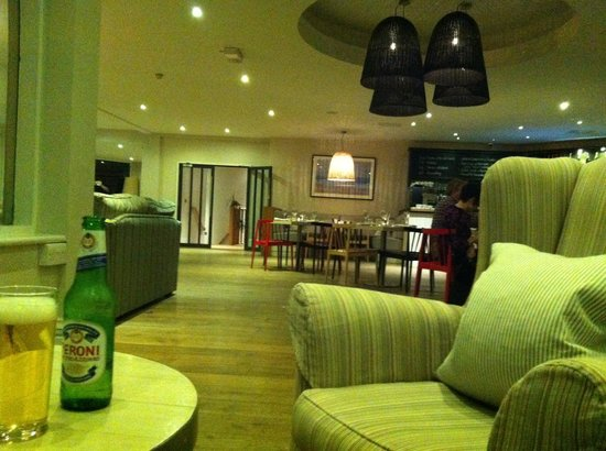 Watergate Bay Hotel : Living Room bar and lounge