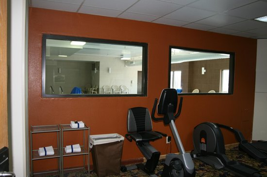 Comfort Inn & Suites Cookeville: Work it out!