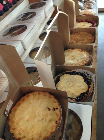 Dyment's Farm : Dyment`s fresh baked pies in all sorts of delicious flavours