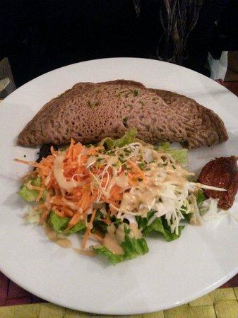 Le Potager du Marais : Crepe di grano saraceno. ..