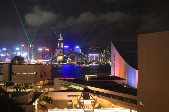 The Salisbury-YMCA of Hong Kong: View from our room
