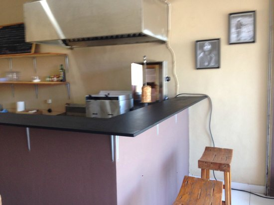 The Kebab Shop: our kitchen