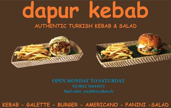 The Kebab Shop: business card