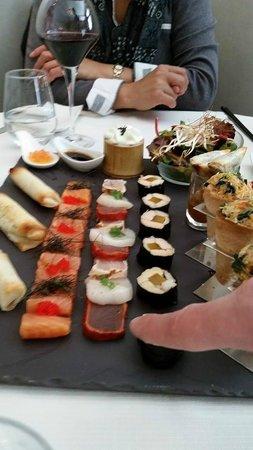 Restaurant La Cafetière Fêlée : Dégustation en Assiette Gourmande d'entrées