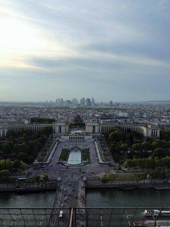 Tour Eiffel : panorama dalla cima