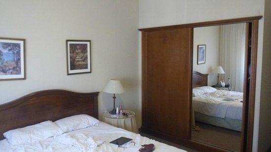 Ermitage Hotel: O nosso quarto: A cama era muito boa.