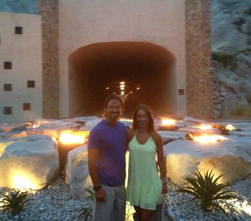 The Resort at Pedregal: tunnel entrance
