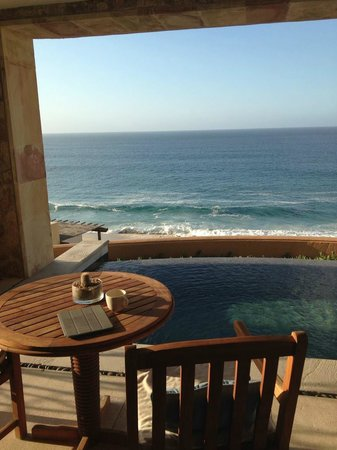 The Resort at Pedregal: morning coffee