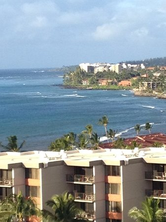 Ka'anapali Beach Club: View from balcony