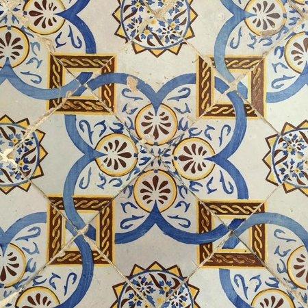 Dar Ben-Gacem: Tile detail