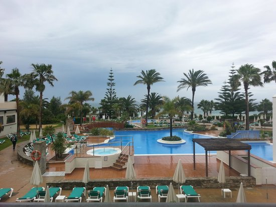 Hotel Fuerte Conil - Costa Luz: bonito hasta con la lluvia