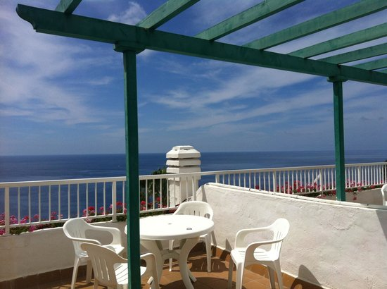 Hotel Altamar : Balcony