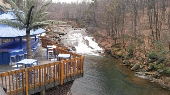 The Woodlands Resort, An Ascend Collection Hotel: Streamside Deck