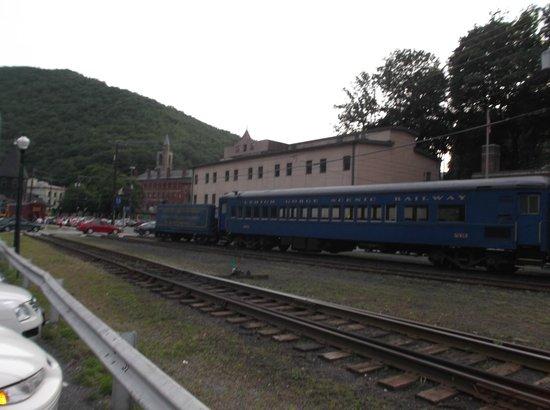 Lehigh Gorge Scenic Railway : THE LGSRY TRAIN CARS THEY USES