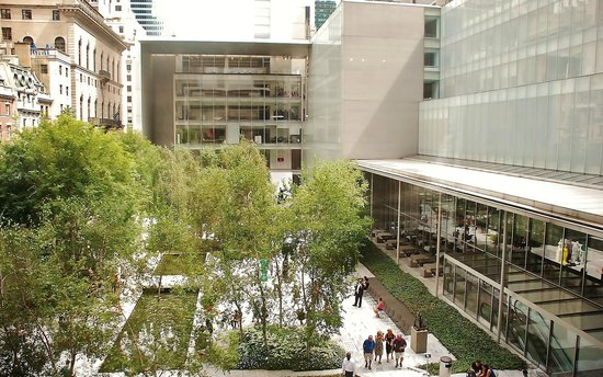 Metropolitan Museum of Art : jardin exterieur