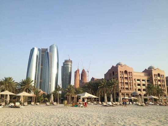 Emirates Palace: Hotel mit Strand