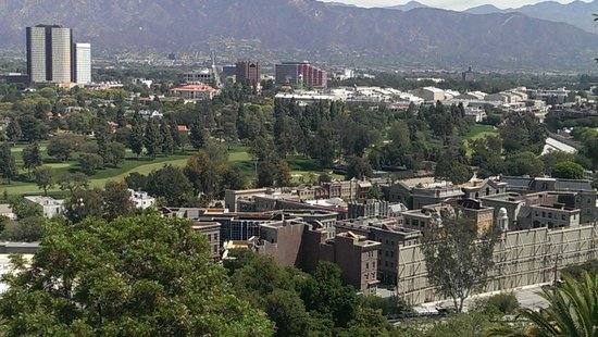 Universal Studios Hollywood: View from entrance to Studio Tour