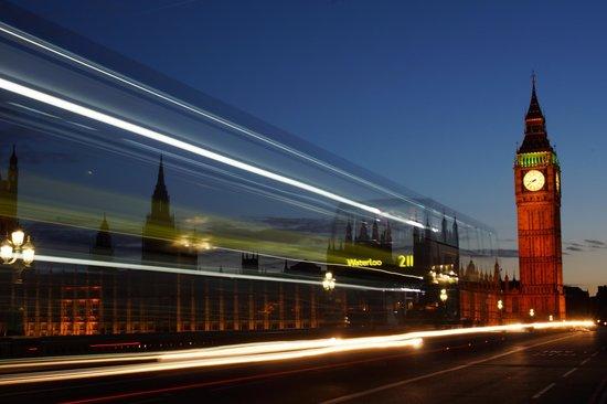 Photo Walks of London: Geisterbus vor Big Ben
