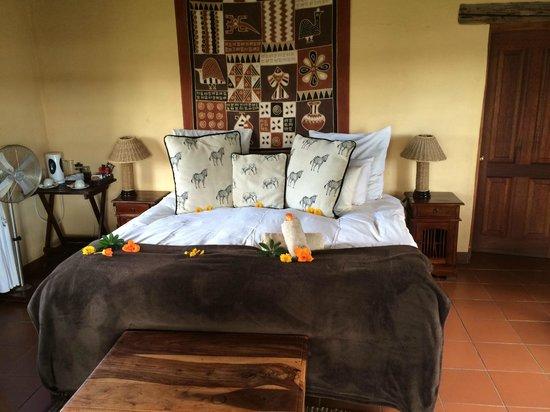 Horizon Horseback Adventures Lodge: bedroom in villa