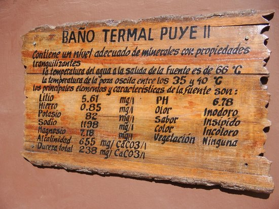Colca Lodge Spa & Hot Springs - Hotel: Natural chemicals in the hot pools