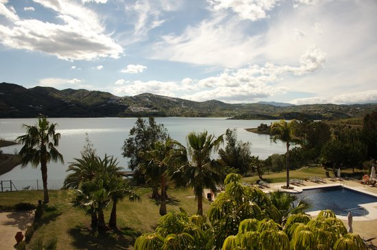 B Bou Hotel Vinuela & Spa: from the room
