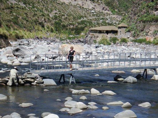 Colca Lodge Spa & Hot Springs - Hotel: On the bridge