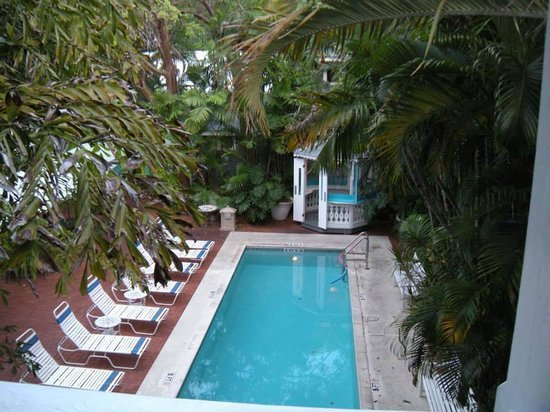 Ambrosia Key West Tropical Lodging: View from our balcony