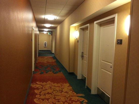 Residence Inn Coralville: Hallway