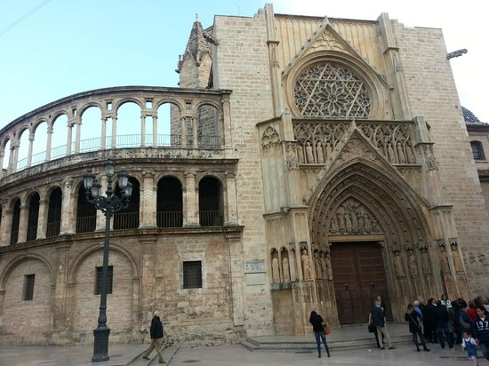 Valencia Cathedral : Vista Praça