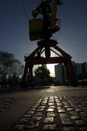 Foto Ruta Buenos Aires: Sunset at Puerto Madero