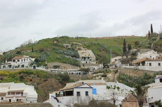 Cuevas El Abanico: Quartier de Sacromonte, ça grimpe mais c'est magnifque !