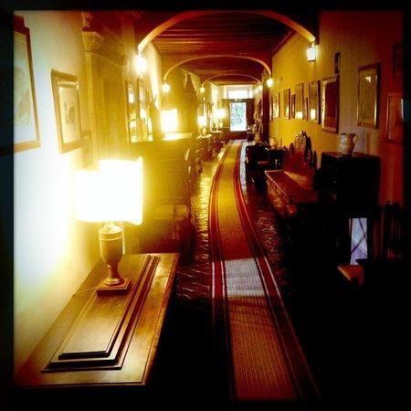 Eremo delle Grazie: Corridoio del primo piano