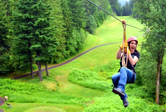 ‪Skamania Lodge Zip Line Tour‬