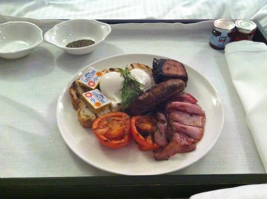 The Ampersand Hotel: Room service full English breakfast