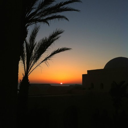 Radisson Blu Ulysse Resort & Thalasso Djerba: First ray's of the sun from my room