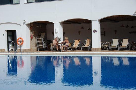 Hotel Fuerte Grazalema: la piscina